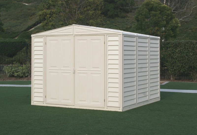 Duramax 00381 – 8'x8' Stronglasting DuraMate Vinyl Shed