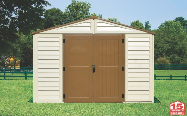 Duramax 40224 - 10x10 Woodbridge Plus Vinyl Shed with Foundation