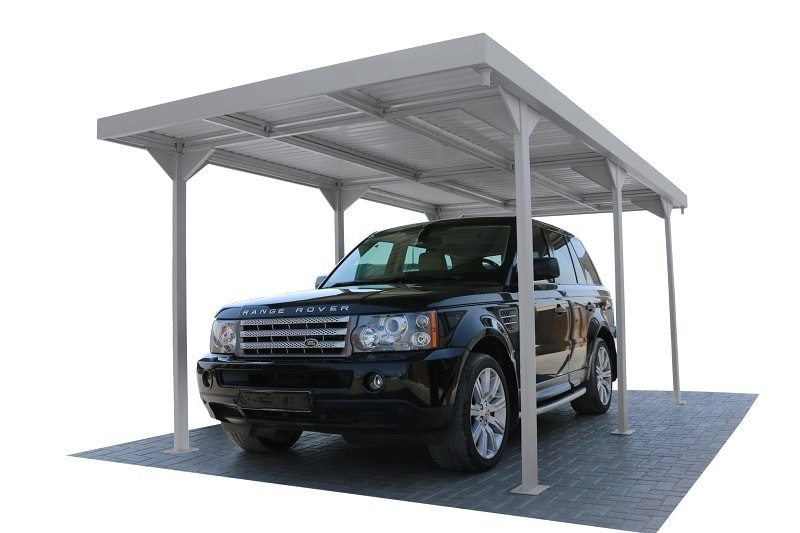Duramax 10072 9.5x17 Palladium Car Shelter