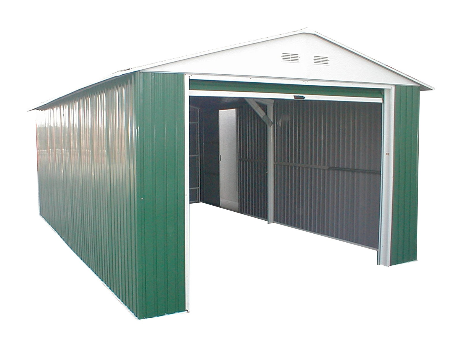 Duramax 54961 Metal Garage u2013 6u0027 Metal Storage Shed Extension - Green with White Trim  sc 1 st  Duramax Sheds & Duramax 55261 Imperial Metal Building 12x32 (55261) is on sale. Free ...
