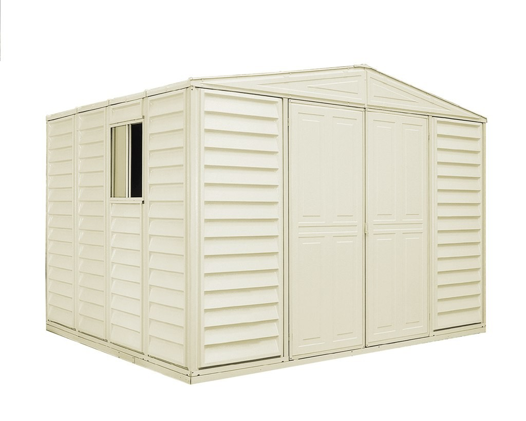 Jeanie nawn access duramax 10 x 10 shed for Vinyl storage buildings