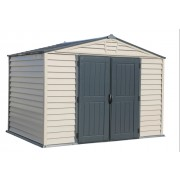 Duramax 30225 Storemax Plus with Molded Floor 10.5x8 Vinyl Shed