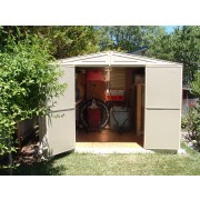 Duramax 00211/00281 - 10.5'x8' Stronglasting WoodBridge Vinyl Shed