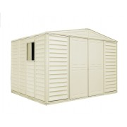 Duramax 00481 – 10.5'x10.5' Stronglasting WoodBridge Vinyl Shed